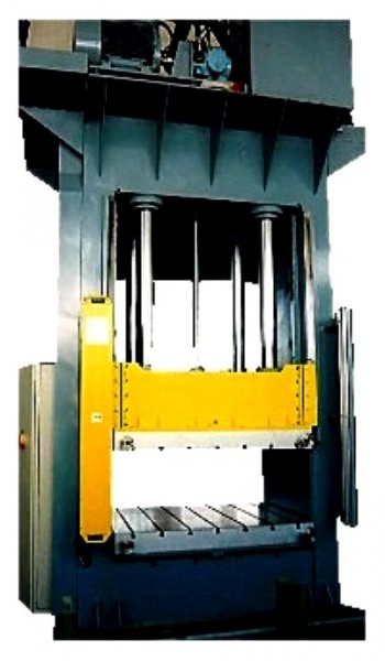 Hydraulic presses two column-frame