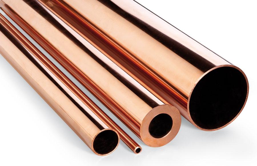 Materiales cobre